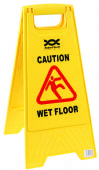 "24"" Wet Floor Warning Sign A-Frame"